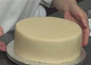 Evening Demonstration - how to pre cover your fruit cake with marzipan