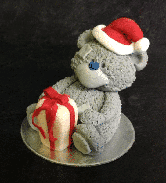 Christmas Grey Bear Modelling  Class