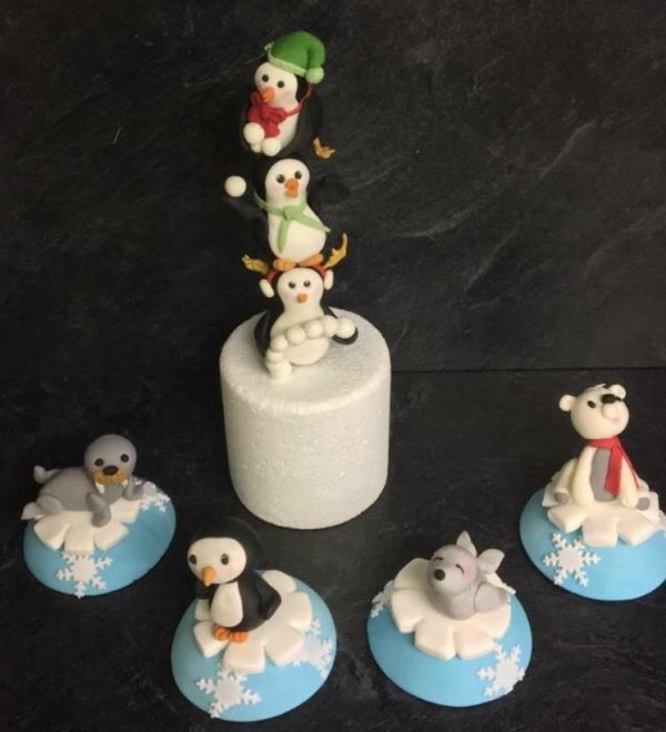 Christmas cake toppers Class