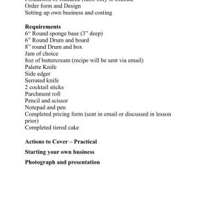 CAS Certificate in Cake Decorating: Module 1  INTENSE SUGARPASTE