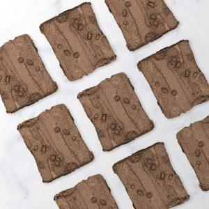 Image of nine baileys brownie