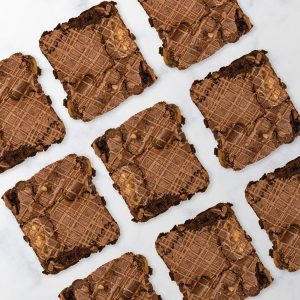 An image showing our Mars Bar brownie selection