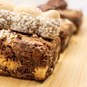Close up image of our Bueno Brownie