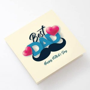 Happy Father's day greetings card