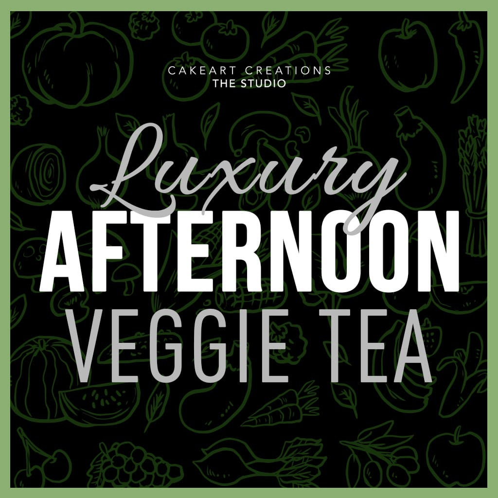 Luxury Afternoon Veggie Tea